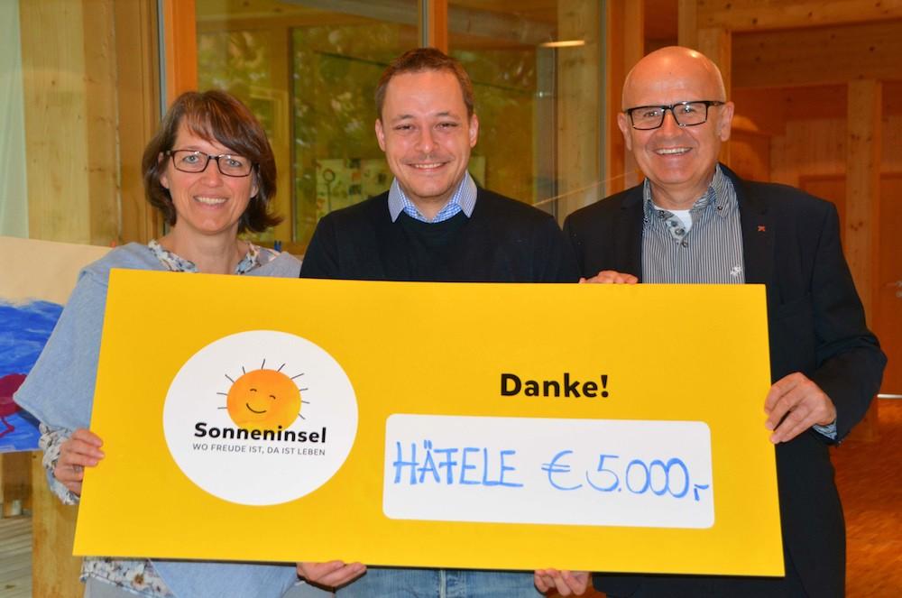Spenden statt Weihnachtsgeschenke: Vielen Dank an Häfele Austria ...