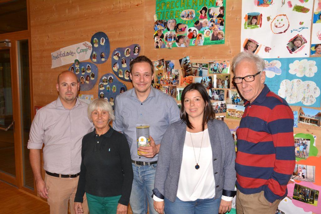 Familie Hirscher Schweißtechik spendet für die sonneninsel